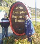 Weinlehrpfad in Peternach
